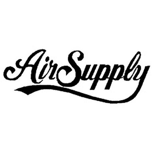 Our Air Supply Vinyl Decal Sticker is offered in many color and size options. <strong>PREMIUM QUALITY</strong> <ul>  <li>High Performance Vinyl</li>  <li>3 mil</li>  <li>5 - 7 Outdoor Lifespan</li>  <li>High Glossy</li>  <li>Made in the USA</li> </ul> &nbsp;