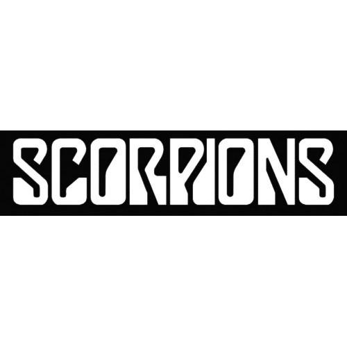 9d36a2a14 Scorpions Logo Vinyl Decal Sticker