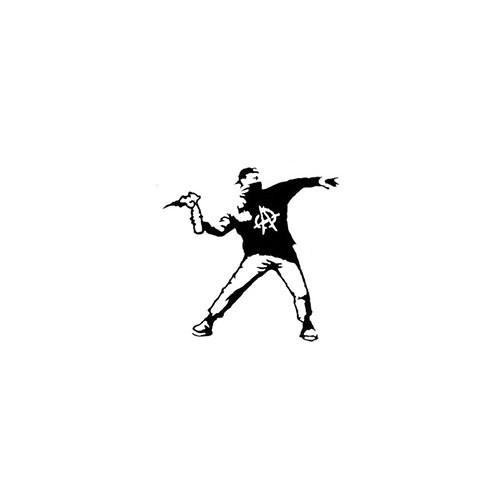Our Molotov Thrower   Vinyl Decal Sticker is offered in many color and size options. <strong>PREMIUM QUALITY</strong> <ul>  <li>High Performance Vinyl</li>  <li>3 mil</li>  <li>5 - 7 Outdoor Lifespan</li>  <li>High Glossy</li>  <li>Made in the USA</li> </ul> &nbsp;