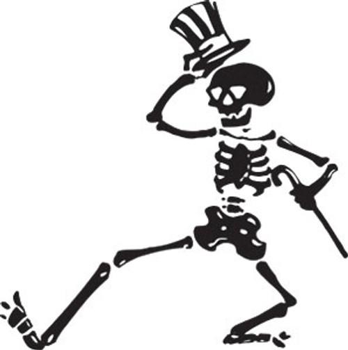 Grateful Dead Dancing Skeletons Vinyl Decal Sticker