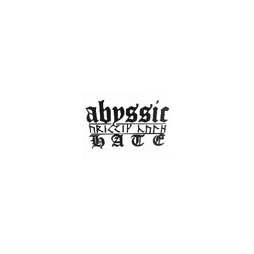 Our ABYSSIC HATE   Vinyl Decal Sticker is offered in many color and size options. <strong>PREMIUM QUALITY</strong> <ul>  <li>High Performance Vinyl</li>  <li>3 mil</li>  <li>5 - 7 Outdoor Lifespan</li>  <li>High Glossy</li>  <li>Made in the USA</li> </ul> &nbsp;