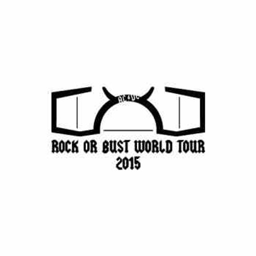 Our AC/DC Rock Or Bust World Tour 2015 Decal is offered in many color and size options. <strong>PREMIUM QUALITY</strong> <ul>  <li>High Performance Vinyl</li>  <li>3 mil</li>  <li>5 - 7 Outdoor Lifespan</li>  <li>High Glossy</li>  <li>Made in the USA</li> </ul> &nbsp;