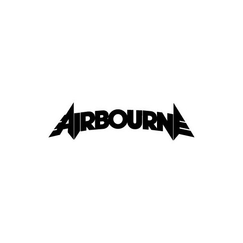 Our Airbourne Decal is offered in many color and size options. <strong>PREMIUM QUALITY</strong> <ul>  <li>High Performance Vinyl</li>  <li>3 mil</li>  <li>5 - 7 Outdoor Lifespan</li>  <li>High Glossy</li>  <li>Made in the USA</li> </ul> &nbsp;