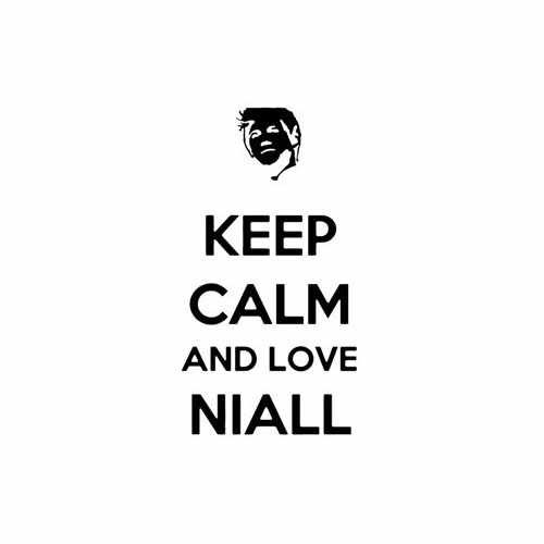 Keep Calm And Love Niall  Vinyl Decal Sticker  Size option will determine the size from the longest side Industry standard high performance calendared vinyl film Cut from Oracle 651 2.5 mil Outdoor durability is 7 years Glossy surface finish