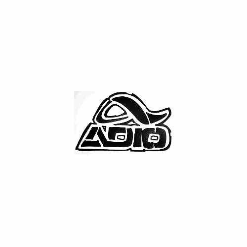 Adio Rough Vinyl Decal Sticker  Size option will determine the size from the longest side Industry standard high performance calendared vinyl film Cut from Oracle 651 2.5 mil Outdoor durability is 7 years Glossy surface finish