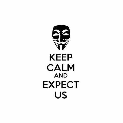 Keep Calm And Expect Us  Vinyl Decal Sticker  Size option will determine the size from the longest side Industry standard high performance calendared vinyl film Cut from Oracle 651 2.5 mil Outdoor durability is 7 years Glossy surface finish