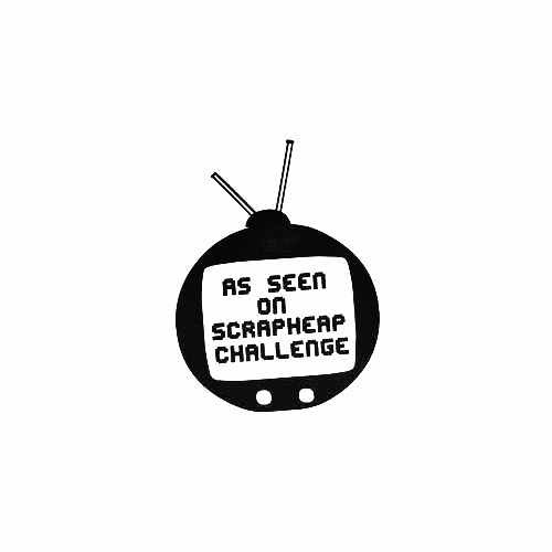 As Seen On Scrapheap Challenge Vinyl Decal Sticker  Size option will determine the size from the longest side Industry standard high performance calendared vinyl film Cut from Oracle 651 2.5 mil Outdoor durability is 7 years Glossy surface finish