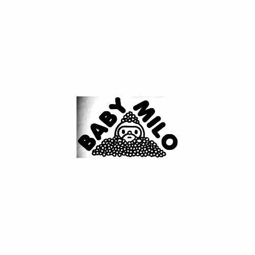 Bape Baby Milo Hearts Vinyl Decal Sticker  Size option will determine the size from the longest side Industry standard high performance calendared vinyl film Cut from Oracle 651 2.5 mil Outdoor durability is 7 years Glossy surface finish