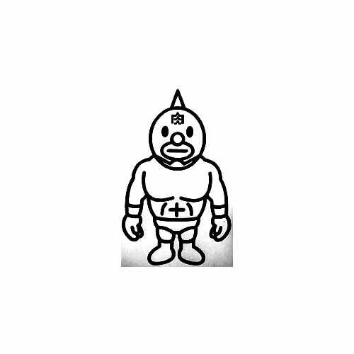 Bape Wrestler Vinyl Decal Sticker  Size option will determine the size from the longest side Industry standard high performance calendared vinyl film Cut from Oracle 651 2.5 mil Outdoor durability is 7 years Glossy surface finish