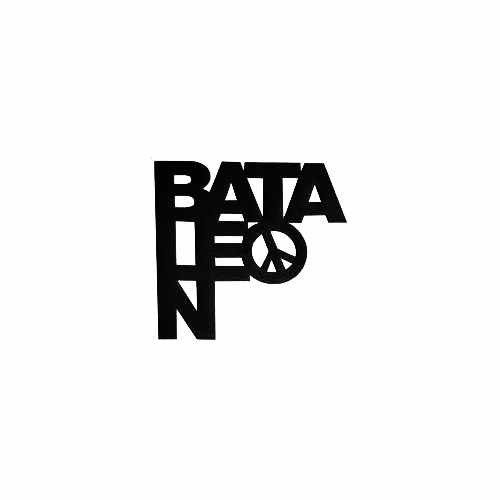Bataleon Peace Vinyl Decal Sticker  Size option will determine the size from the longest side Industry standard high performance calendared vinyl film Cut from Oracle 651 2.5 mil Outdoor durability is 7 years Glossy surface finish