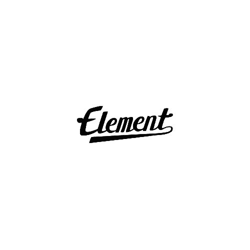Element Script Vinyl Decal Sticker  Size option will determine the size from the longest side Industry standard high performance calendared vinyl film Cut from Oracle 651 2.5 mil Outdoor durability is 7 years Glossy surface finish