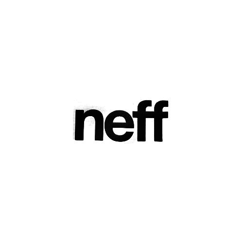 Neff Bold Vinyl Decal Sticker  Size option will determine the size from the longest side Industry standard high performance calendared vinyl film Cut from Oracle 651 2.5 mil Outdoor durability is 7 years Glossy surface finish