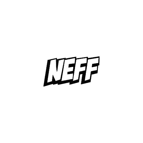 Neff Hard Vinyl Decal Sticker  Size option will determine the size from the longest side Industry standard high performance calendared vinyl film Cut from Oracle 651 2.5 mil Outdoor durability is 7 years Glossy surface finish