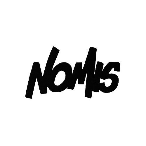 Nomis Graffiti Vinyl Decal Sticker  Size option will determine the size from the longest side Industry standard high performance calendared vinyl film Cut from Oracle 651 2.5 mil Outdoor durability is 7 years Glossy surface finish