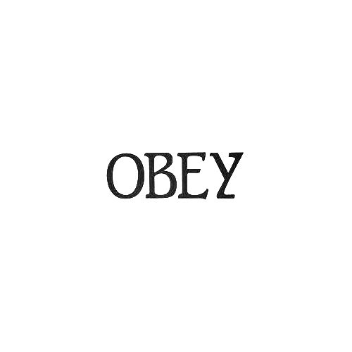 Obey Blunts Vinyl Decal Sticker  Size option will determine the size from the longest side Industry standard high performance calendared vinyl film Cut from Oracle 651 2.5 mil Outdoor durability is 7 years Glossy surface finish