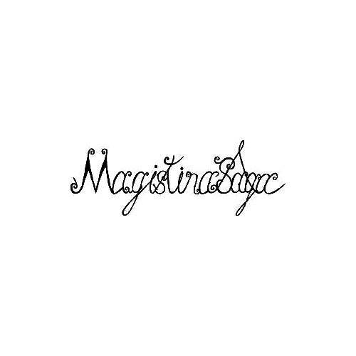 Our Magistina Saga Band Logo Decal is offered in many color and size options. <strong>PREMIUM QUALITY</strong> <ul>  <li>High Performance Vinyl</li>  <li>3 mil</li>  <li>5 - 7 Outdoor Lifespan</li>  <li>High Glossy</li>  <li>Made in the USA</li> </ul> &nbsp;