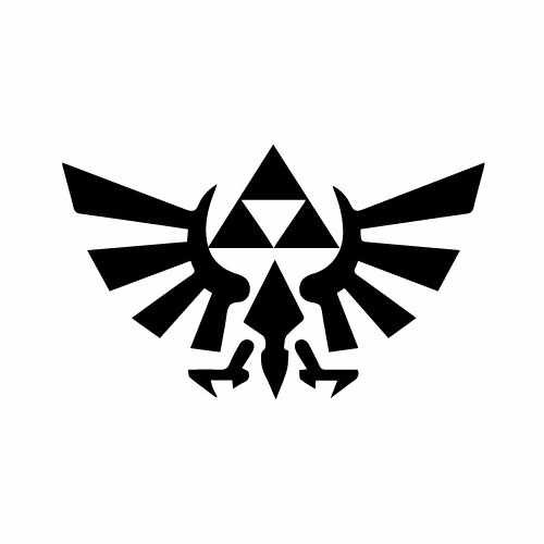 Zelda Tri Force Vinyl Decal Sticker  Size option will determine the size from the longest side Industry standard high performance calendared vinyl film Cut from Oracle 651 2.5 mil Outdoor durability is 7 years Glossy surface finish