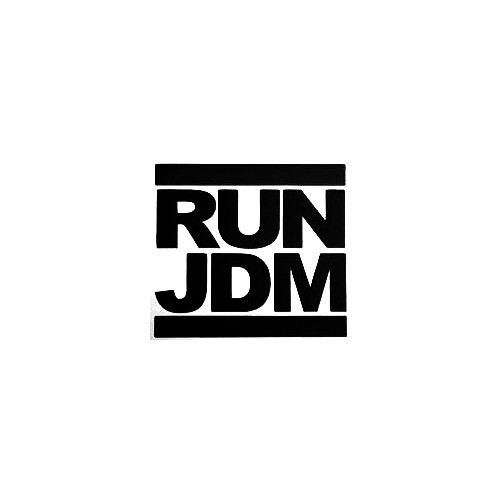Run Jdm Vinyl Decal Sticker  Size option will determine the size from the longest side Industry standard high performance calendared vinyl film Cut from Oracle 651 2.5 mil Outdoor durability is 7 years Glossy surface finish