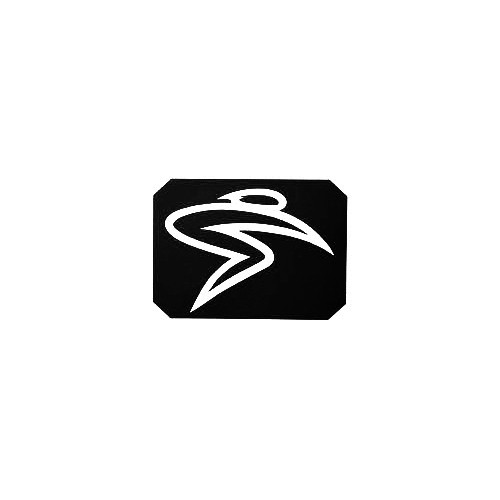 Santa Cruz Bicycles S-Man Block Vinyl Decal Sticker  Size option will determine the size from the longest side Industry standard high performance calendared vinyl film Cut from Oracle 651 2.5 mil Outdoor durability is 7 years Glossy surface finish