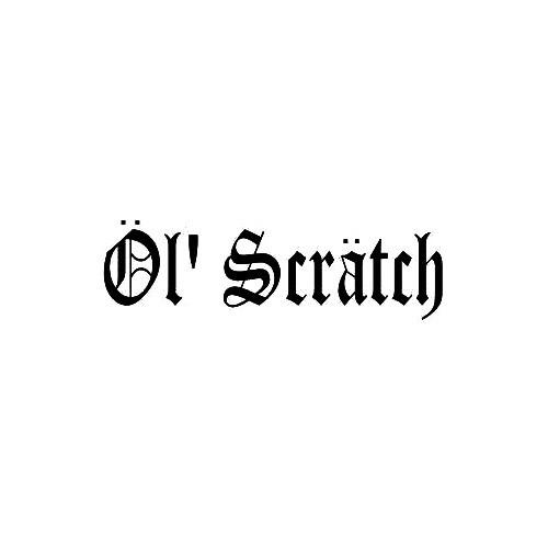 Our Ol' Scratch Band Logo Decal is offered in many color and size options. <strong>PREMIUM QUALITY</strong> <ul>  <li>High Performance Vinyl</li>  <li>3 mil</li>  <li>5 - 7 Outdoor Lifespan</li>  <li>High Glossy</li>  <li>Made in the USA</li> </ul> &nbsp;