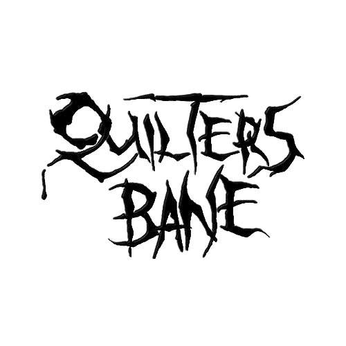 Our Quilter's Bane Band Logo Decal is offered in many color and size options. <strong>PREMIUM QUALITY</strong> <ul>  <li>High Performance Vinyl</li>  <li>3 mil</li>  <li>5 - 7 Outdoor Lifespan</li>  <li>High Glossy</li>  <li>Made in the USA</li> </ul> &nbsp;