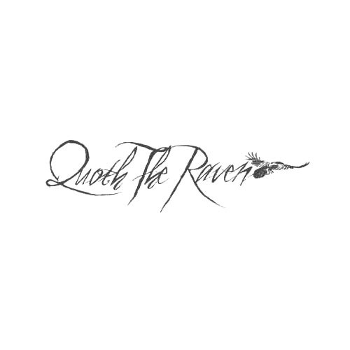 Our Quoth The Raven Band Logo Decal is offered in many color and size options. <strong>PREMIUM QUALITY</strong> <ul>  <li>High Performance Vinyl</li>  <li>3 mil</li>  <li>5 - 7 Outdoor Lifespan</li>  <li>High Glossy</li>  <li>Made in the USA</li> </ul> &nbsp;