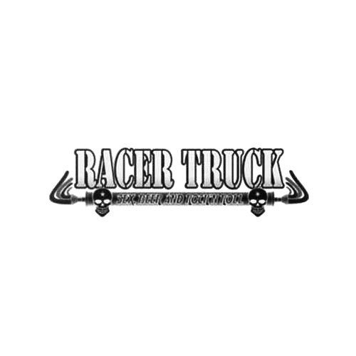 Our Racer Truck Band Logo Decal is offered in many color and size options. <strong>PREMIUM QUALITY</strong> <ul>  	<li>High Performance Vinyl</li>  	<li>3 mil</li>  	<li>5 - 7 Outdoor Lifespan</li>  	<li>High Glossy</li>  	<li>Made in the USA</li> </ul> &nbsp;