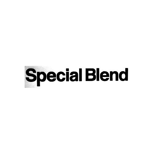 Special Blend Text Long Vinyl Decal Sticker  Size option will determine the size from the longest side Industry standard high performance calendared vinyl film Cut from Oracle 651 2.5 mil Outdoor durability is 7 years Glossy surface finish