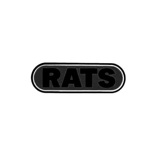 Our Rats Band Logo Decal is offered in many color and size options. <strong>PREMIUM QUALITY</strong> <ul>  <li>High Performance Vinyl</li>  <li>3 mil</li>  <li>5 - 7 Outdoor Lifespan</li>  <li>High Glossy</li>  <li>Made in the USA</li> </ul> &nbsp;