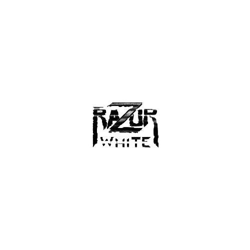 Our Razor White Band Logo Decal is offered in many color and size options. <strong>PREMIUM QUALITY</strong> <ul>  <li>High Performance Vinyl</li>  <li>3 mil</li>  <li>5 - 7 Outdoor Lifespan</li>  <li>High Glossy</li>  <li>Made in the USA</li> </ul> &nbsp;