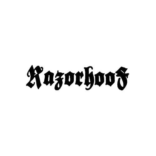 Our Razorhoof Band Logo Decal is offered in many color and size options. <strong>PREMIUM QUALITY</strong> <ul>  <li>High Performance Vinyl</li>  <li>3 mil</li>  <li>5 - 7 Outdoor Lifespan</li>  <li>High Glossy</li>  <li>Made in the USA</li> </ul> &nbsp;