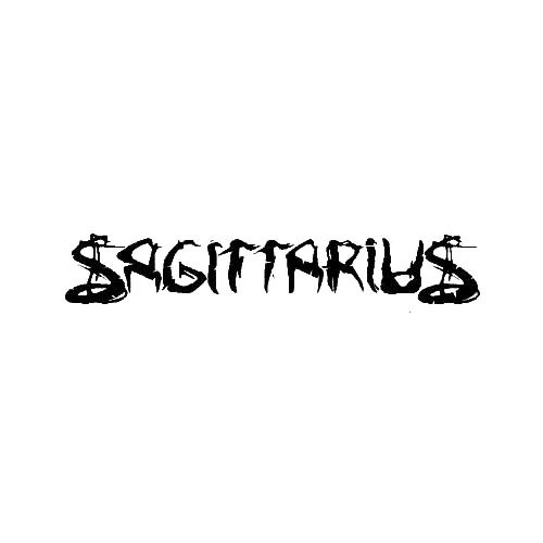 Our Sagittarius (NOR) Band Logo Decal is offered in many color and size options. <strong>PREMIUM QUALITY</strong> <ul>  <li>High Performance Vinyl</li>  <li>3 mil</li>  <li>5 - 7 Outdoor Lifespan</li>  <li>High Glossy</li>  <li>Made in the USA</li> </ul> &nbsp;