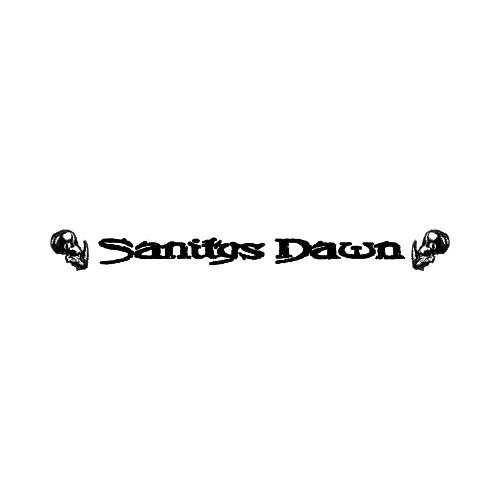 Our Sanitys Dawn Band Logo Decal is offered in many color and size options. <strong>PREMIUM QUALITY</strong> <ul>  <li>High Performance Vinyl</li>  <li>3 mil</li>  <li>5 - 7 Outdoor Lifespan</li>  <li>High Glossy</li>  <li>Made in the USA</li> </ul> &nbsp;