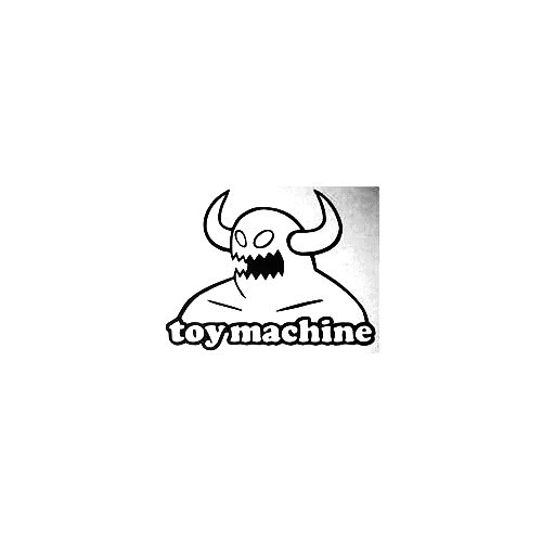 Toy Machine Vinyl Decal Sticker  Size option will determine the size from the longest side Industry standard high performance calendared vinyl film Cut from Oracle 651 2.5 mil Outdoor durability is 7 years Glossy surface finish