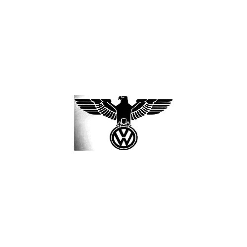 Vw Bird Vinyl Decal Sticker  Size option will determine the size from the longest side Industry standard high performance calendared vinyl film Cut from Oracle 651 2.5 mil Outdoor durability is 7 years Glossy surface finish