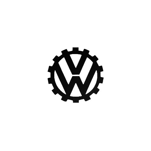 Vw Cog Vinyl Decal Sticker  Size option will determine the size from the longest side Industry standard high performance calendared vinyl film Cut from Oracle 651 2.5 mil Outdoor durability is 7 years Glossy surface finish