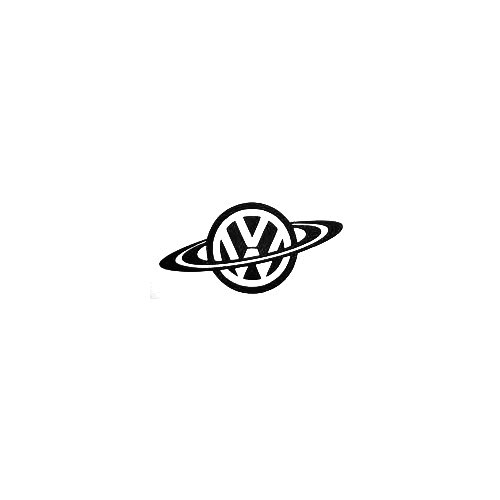 Vw Planet Vinyl Decal Sticker  Size option will determine the size from the longest side Industry standard high performance calendared vinyl film Cut from Oracle 651 2.5 mil Outdoor durability is 7 years Glossy surface finish