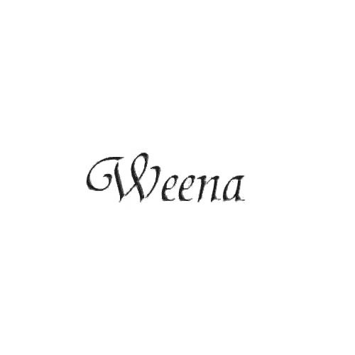 Our Weena Band Logo Decal is offered in many color and size options. <strong>PREMIUM QUALITY</strong> <ul>  <li>High Performance Vinyl</li>  <li>3 mil</li>  <li>5 - 7 Outdoor Lifespan</li>  <li>High Glossy</li>  <li>Made in the USA</li> </ul> &nbsp;