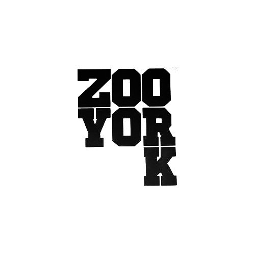 Zoo York Text Chunky Vinyl Decal Sticker  Size option will determine the size from the longest side Industry standard high performance calendared vinyl film Cut from Oracle 651 2.5 mil Outdoor durability is 7 years Glossy surface finish