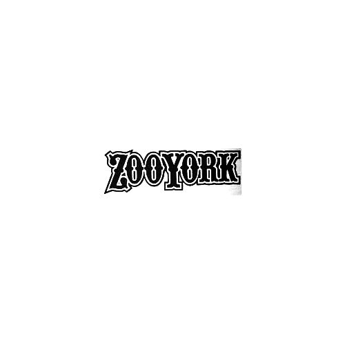 Zoo York Text Retro Vinyl Decal Sticker  Size option will determine the size from the longest side Industry standard high performance calendared vinyl film Cut from Oracle 651 2.5 mil Outdoor durability is 7 years Glossy surface finish