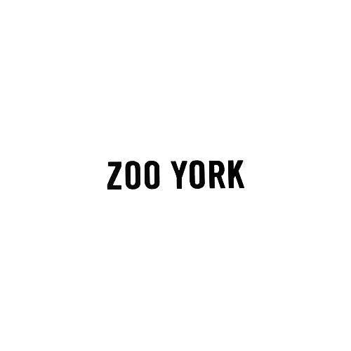 Zoo York Text Vinyl Decal Sticker  Size option will determine the size from the longest side Industry standard high performance calendared vinyl film Cut from Oracle 651 2.5 mil Outdoor durability is 7 years Glossy surface finish