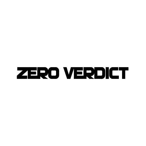 Our Zero Verdict Band Logo Decal is offered in many color and size options. <strong>PREMIUM QUALITY</strong> <ul>  <li>High Performance Vinyl</li>  <li>3 mil</li>  <li>5 - 7 Outdoor Lifespan</li>  <li>High Glossy</li>  <li>Made in the USA</li> </ul> &nbsp;