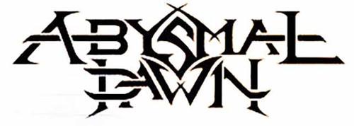 ABYSMAL DAWN  Metal Band Logo Vinyl Decal