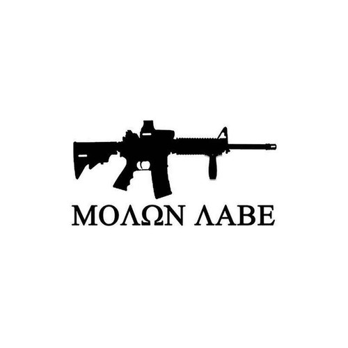 09 Molon Vinyl Sticker