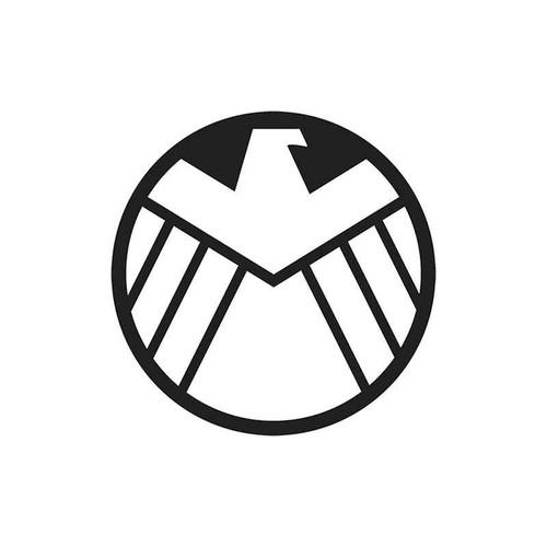 13 Shield Vinyl Sticker