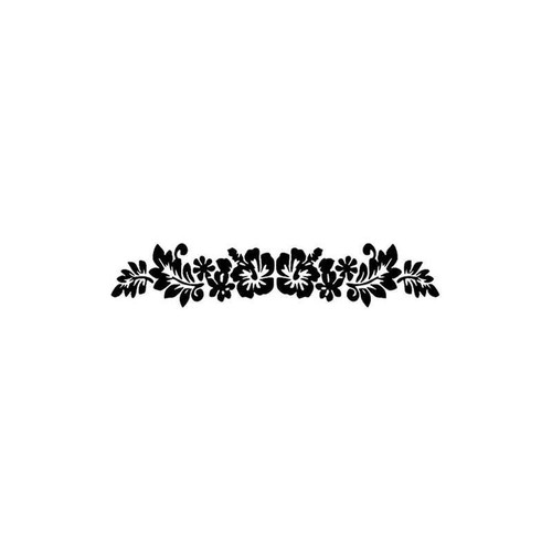 15 Hibiscus Vinyl Sticker