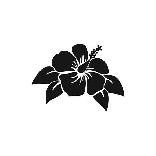 16 Hibiscus Flower Vinyl Sticker