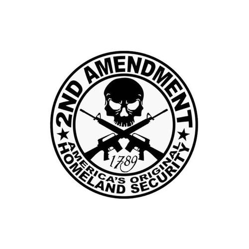 20 2nd Amendment Vinyl Sticker