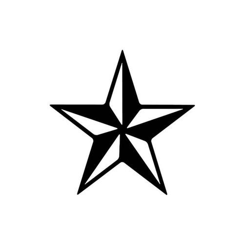 22 Star Vinyl Sticker
