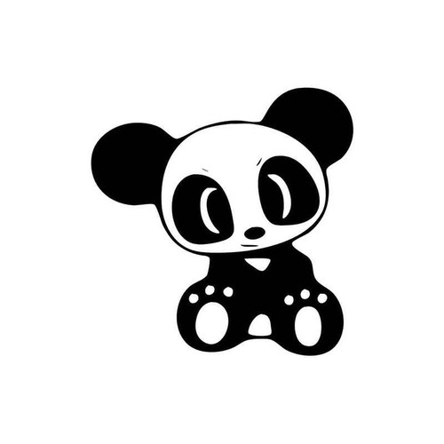 23 Panda Vinyl Sticker